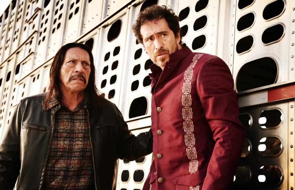Danny Trejo and Demian Bichir in Machete Kills (Picture: Lionsgate)
