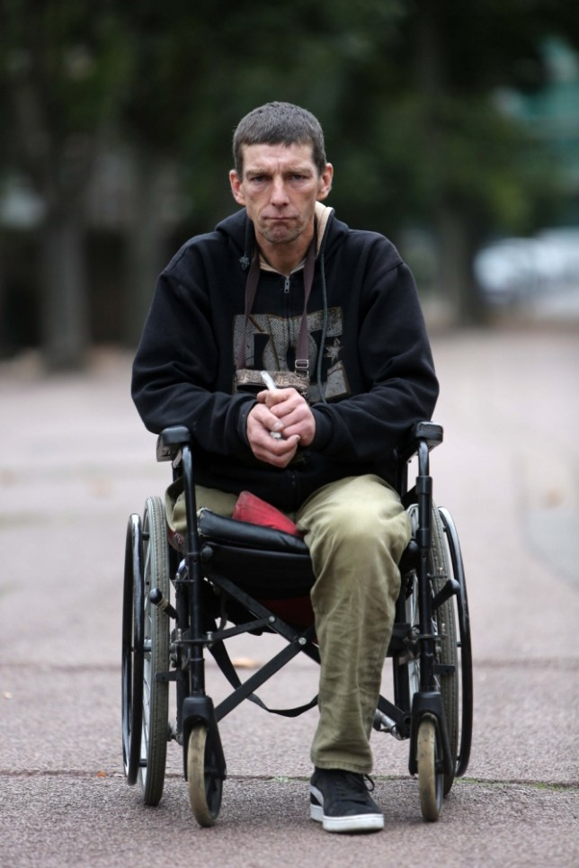 One-legged beggar 'names and shames' Tory MP who told him to get a job