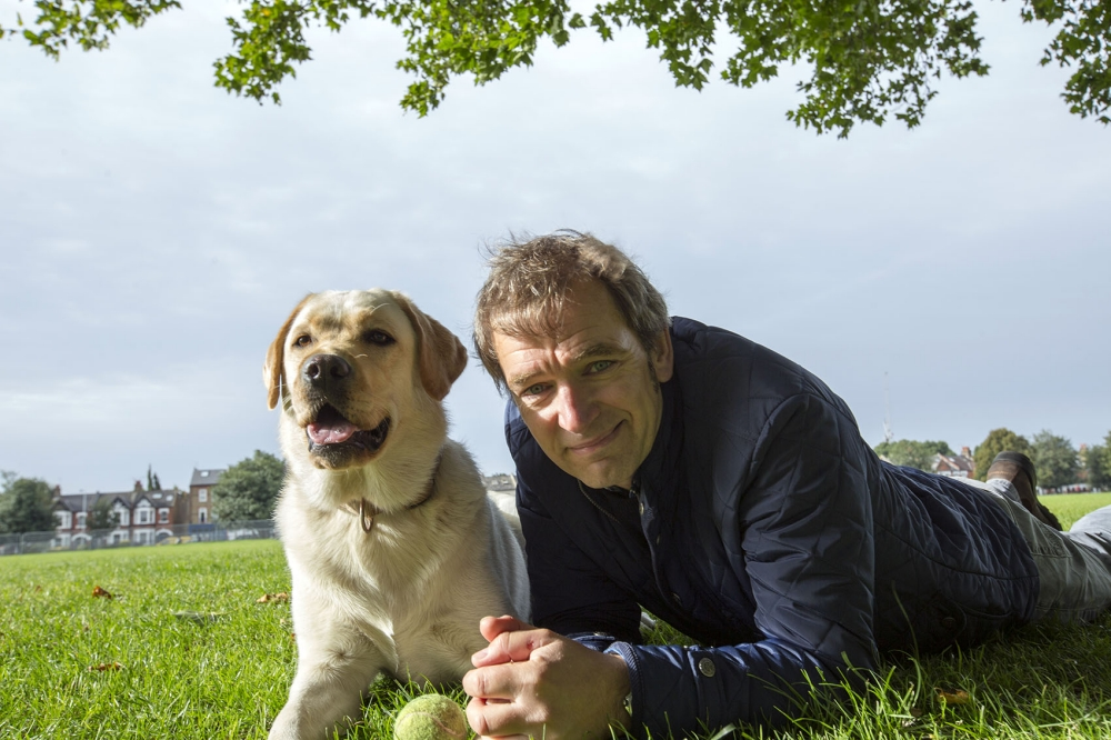 TV vet Mark Evans tried to soften the guilt trip in Dogs: Their Secret Lives (Picture: supplied)
