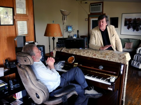 Stephen Fry: Out There saw our host on a hiding to nothing in Uganda
