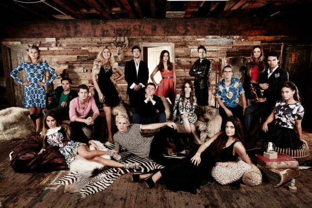 Left to right, Phoebe, Andy, Victoria, Stevie, Cheska, Jamie, Alex, Francis, Lucy, Rosie, Spencer, binky, proudlock, Fran, Mark Francis and Louise