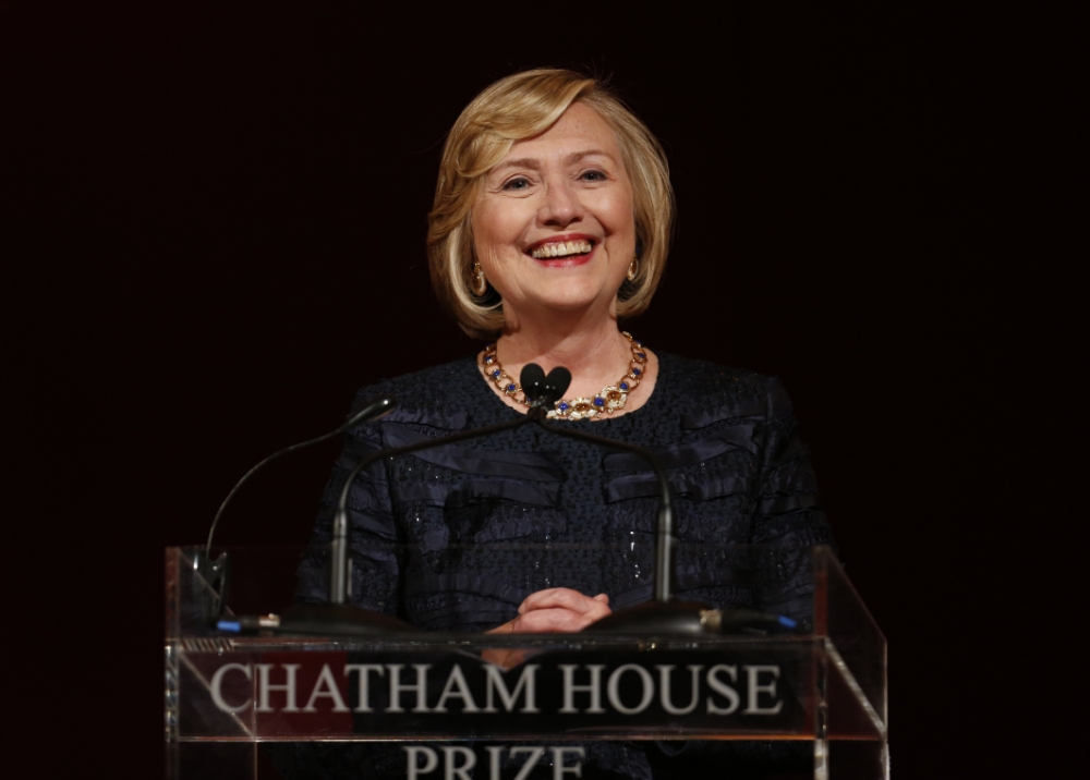 Hillary Clinton's diplomatic skills get a real ticketing off from parking warden