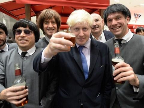 Gallery: Boris Johnson gets rock star reception in China