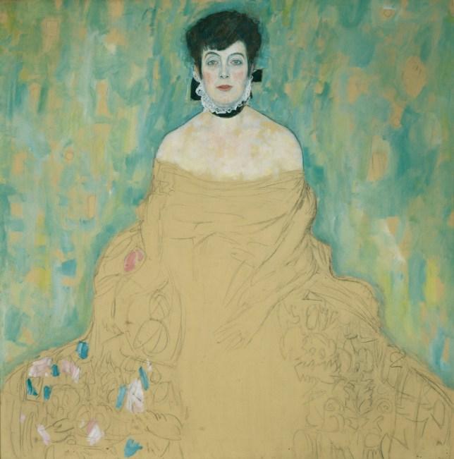 Gustav Klimt's Amalie Zuckerkandl (Picture: Belvedere Vienna)