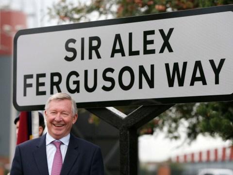 Sir Alex Ferguson Way officially unveiled near Old Trafford