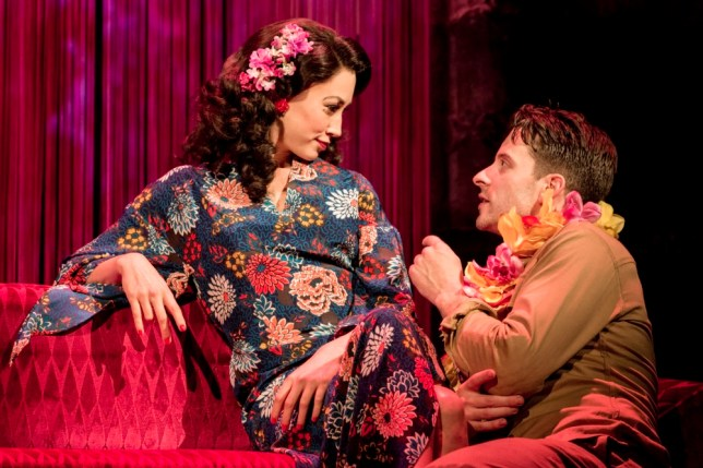Siubhan Harrison and Robert Lonsdale star in From Here To Eternity (Picture: Johan Persson)