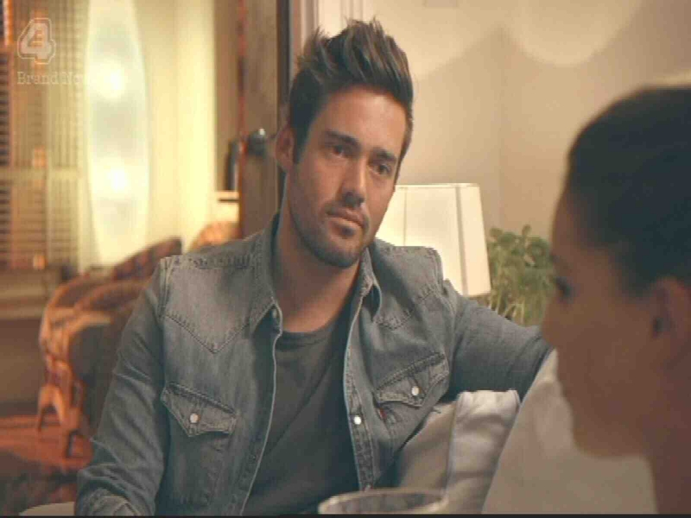 EROTEME.CO.UK If bylined, must credit E4 Made In Chelsea Spencer surprises Louise by turning up to see how she is. NON-EXCLUSIVE: Monday 14th October 2013 Job: 1310140UT1 EROTEME.CO.UK 44 207 431 1598 Disclaimer note of Eroteme Ltd: Eroteme Ltd does not claim copyright for this image. This image is merely a supply image and payment will be on supply/usage fee only.