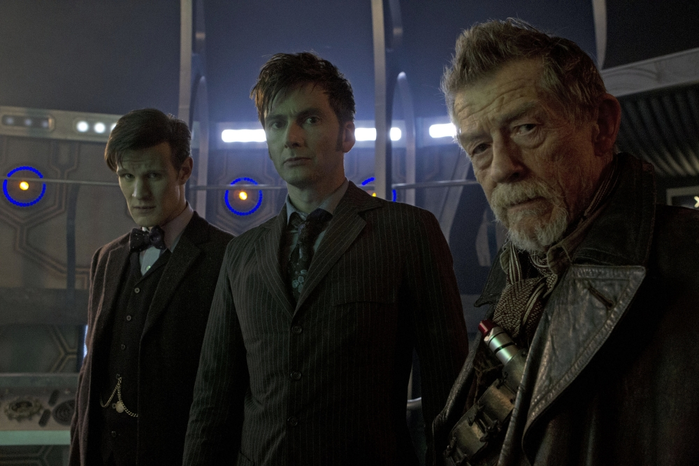 Steven Moffat: John Hurt steals Doctor Who 50th anniverary special with just a look
