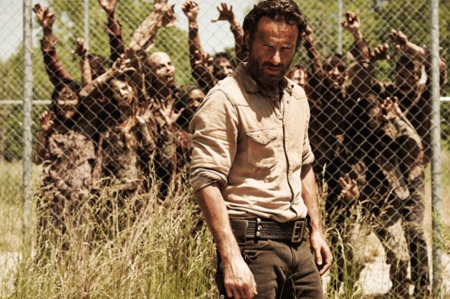 Rick Grimes (Andrew Lincoln) in The Walking Dead (Picture: Frank Ockenfels)