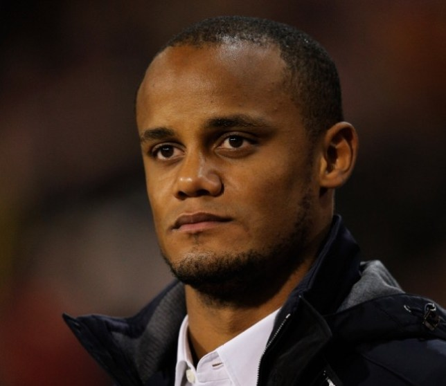 BRUSSELS, BELGIUM - OCTOBER 15:  Vincent Kompany of Belgium looks on prior to the FIFA 2014 World Cup Qualifying Group A match between Belgium and Wales at King Baudouin Stadium on October 15, 2013 in Brussels, Belgium.  (Photo by Dean Mouhtaropoulos/Getty Images)