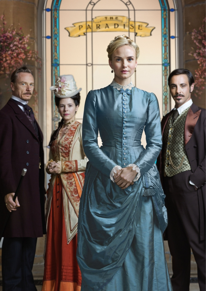 Closing for good: department store drama The Paradise axed by BBC after two series
