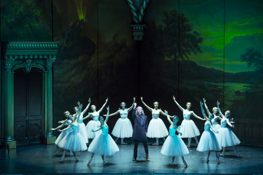 Verdi's opera is updated to the mid-19th century and set in Paris (Picture: Bill Cooper)