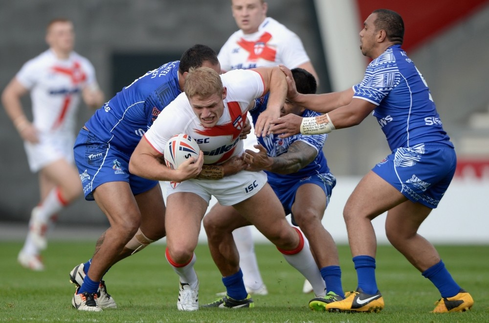 England Knights romp to comfortable World Cup warm-up victory over Samoa