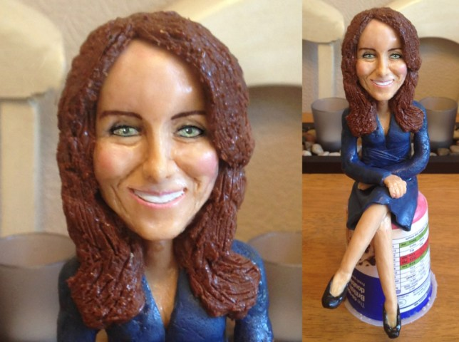 Cake Middleton: Young baker creates lifelike cake replicas of famous faces