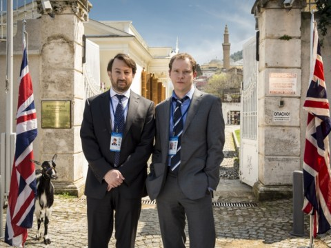 Spooks meets Yes, Minister in Ambassadors