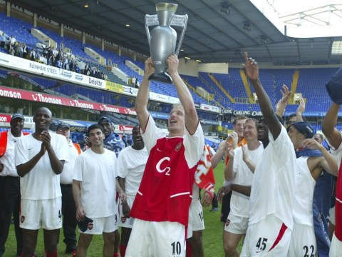 Paul Merson: 'Absolutely phenomenal' Dennis Bergkamp is Arsenal's greatest-ever player