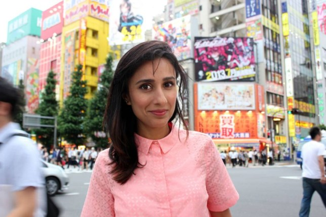 Anita Rani investigates the dwindling birth rate in Japan (Picture: BBC)