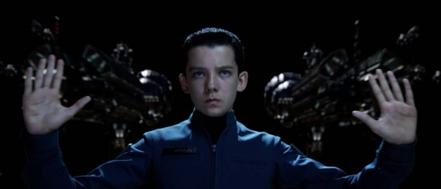 Asa Butterfield in Ender's Game by director Gavin Hood (Picture: supplied)