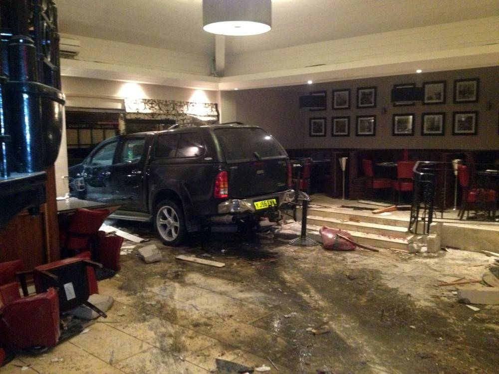 Jilted husband spared jail after driving 4×4 into Italian restaurant