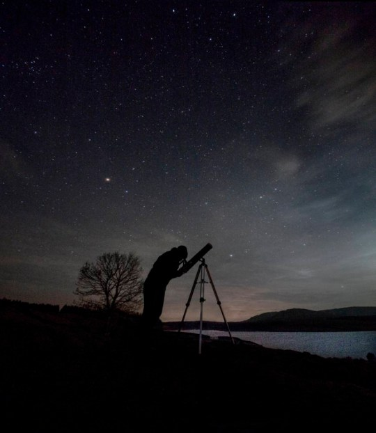 Stargazing at Clatteringshaws Loch, Galloway Forest Park (Picture: P Tomkins/ VisitScotland/Scottish Viewpoint)