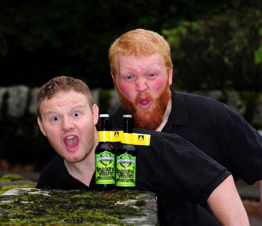 The beer, Snake Venom, is only meant to be drank in small 35ml servings (Picture: SWNS)