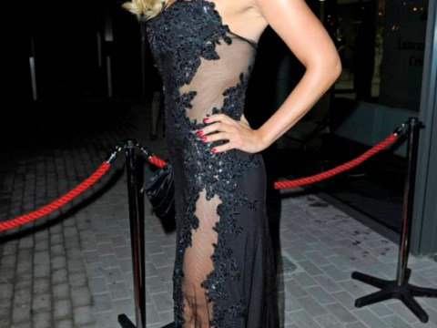 Coronation Street beauty Catherine Tyldesley stuns on the red carpet in daring sheer frock