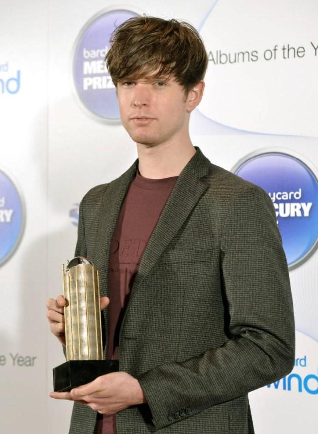 James Blake - Barclaycard Mercury Music Prize