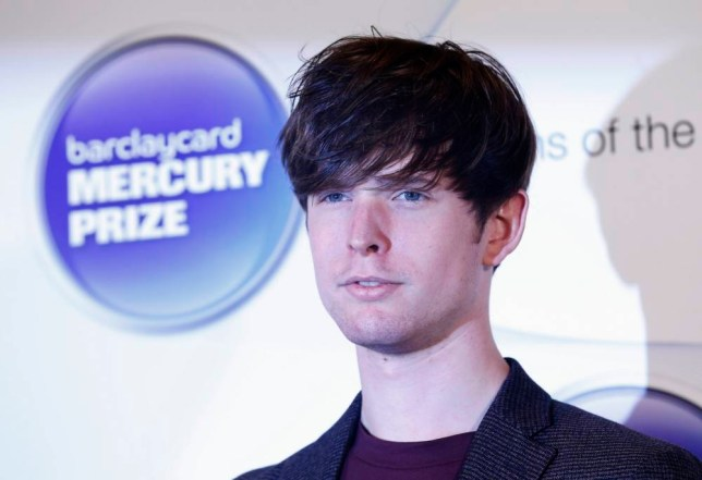 Musician James Blake, nominated for the Mercury Music Prize, poses for a photograph ahead of the ceremony in north London, October 30, 2013. REUTERS/Olivia Harris (BRITAIN - Tags: ENTERTAINMENT)