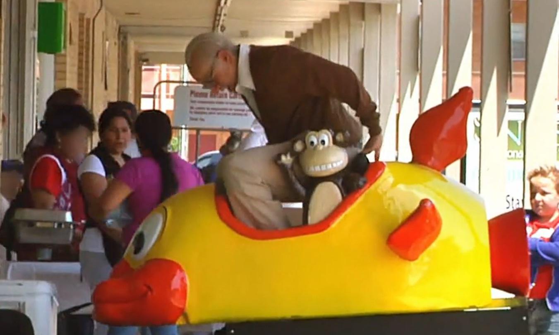 First full clip of Jackass Presents: Bad Grandpa sees children's ride stunt