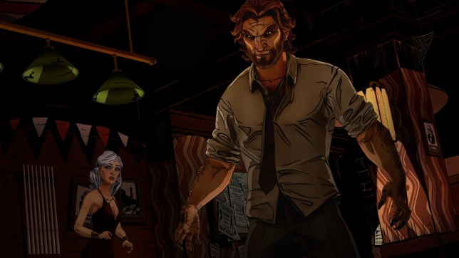 The Wolf Among Us: Episode 1 - Faith (360) -  you wouldn't like Bigby when he's angry
