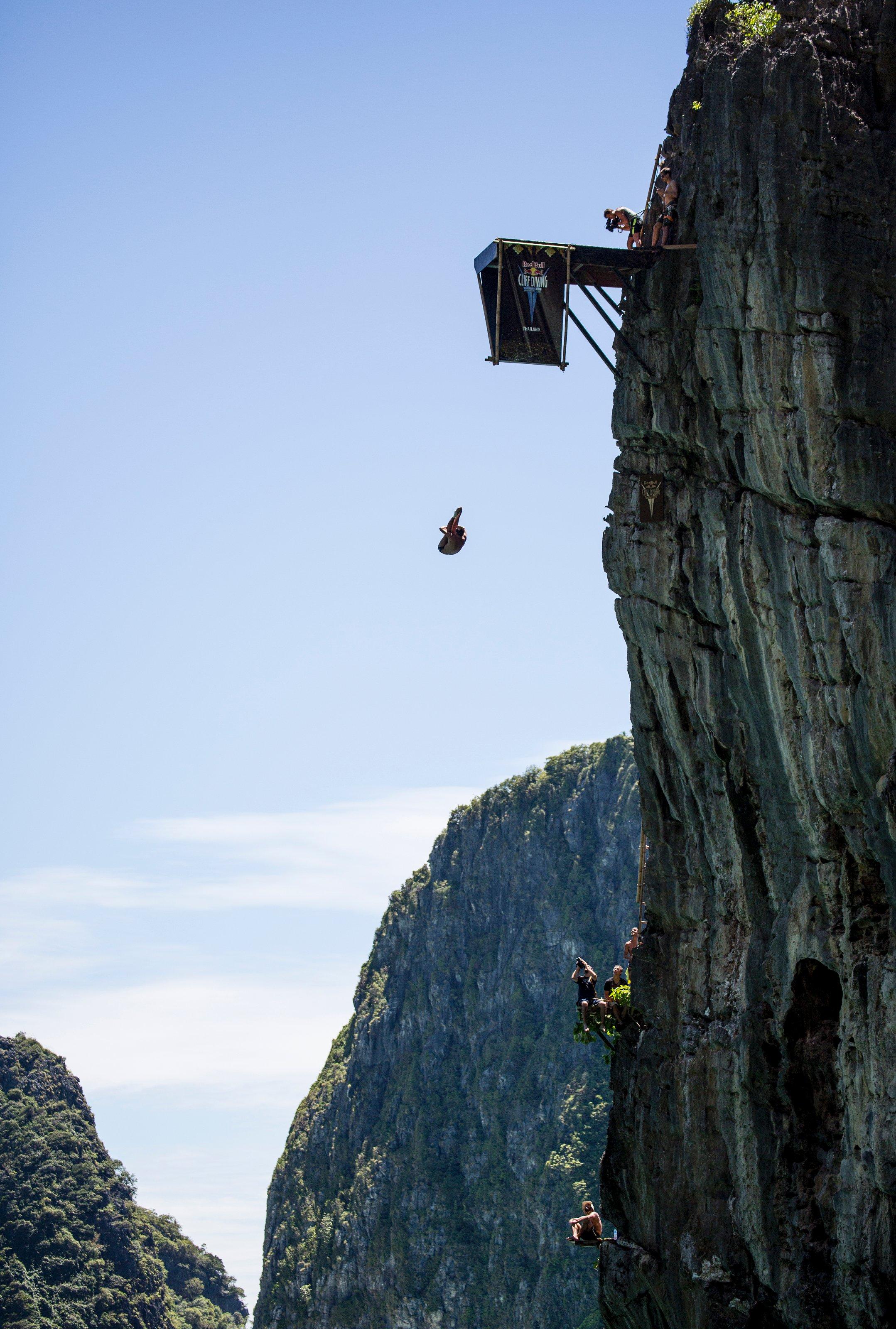 Blake Aldridge blog: Red Bull Cliff Diving World Series finishes on a high