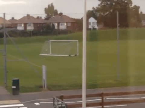Spooky! Barnet's training goal goes on mysterious  Halloween walkabout