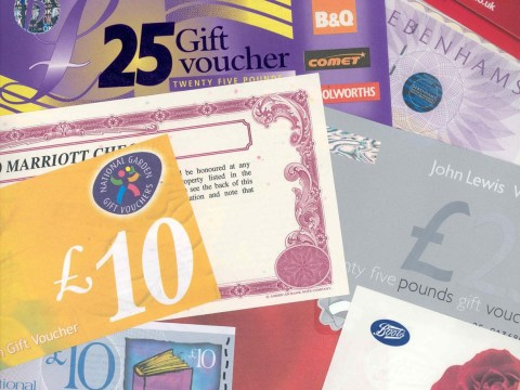 Gift card campaign aims to protect high street Christmas shoppers