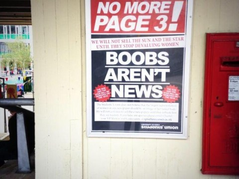 The Sun may call it 'youth and freshness' but the youth are saying No More Page 3
