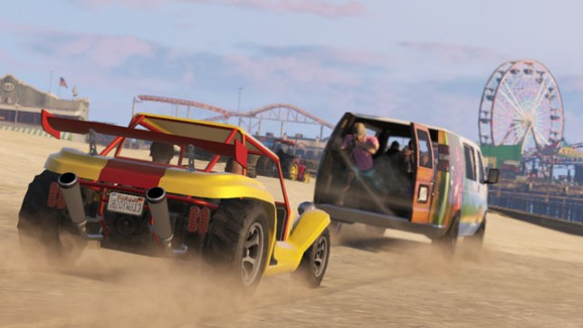 GTA V beach vehicles