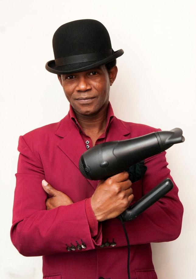 Inventor TonyWaithe & New type of Hairdryer