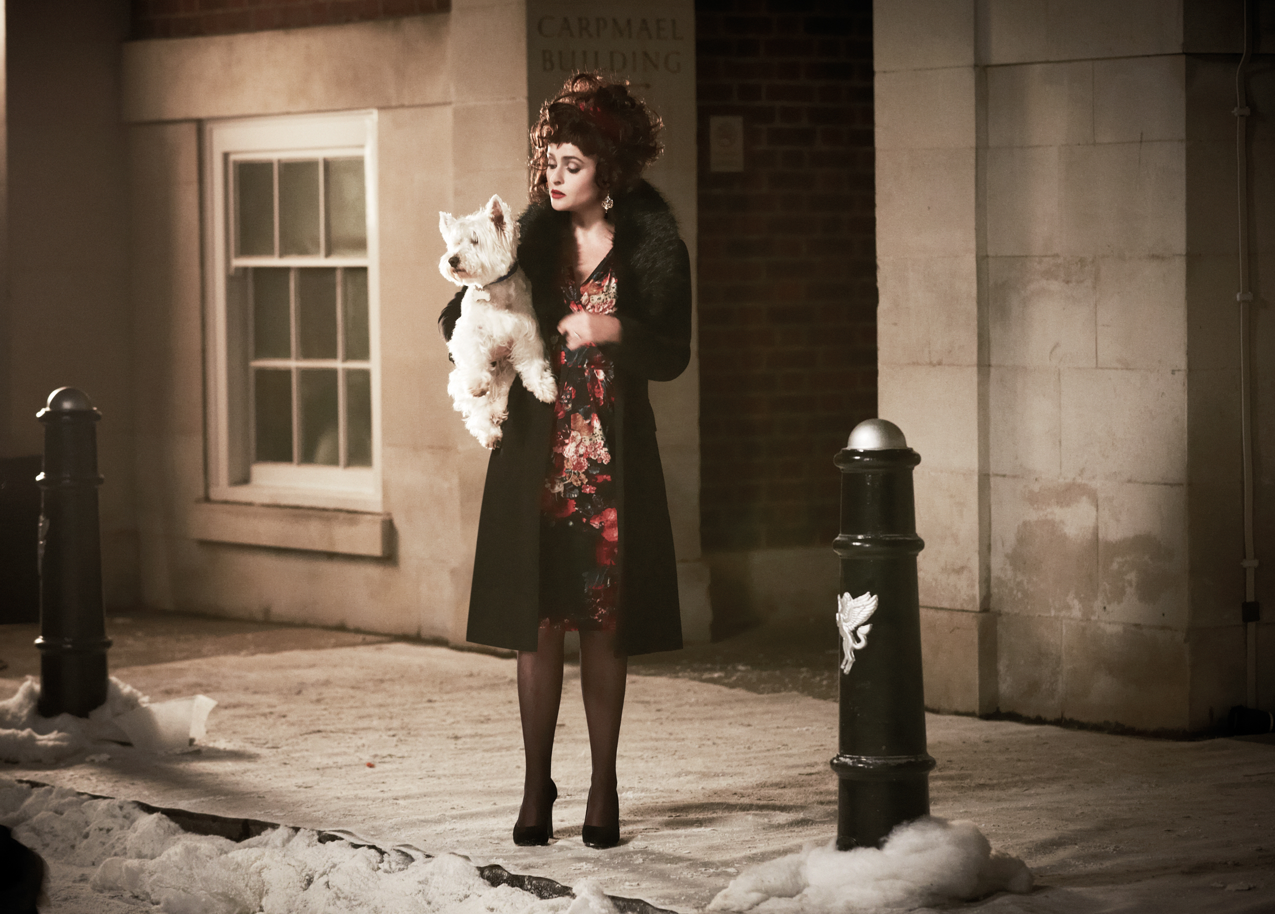 Helena Bonham Carter stars in the M&S Christmas ad (Picture: Marks & Spencer)