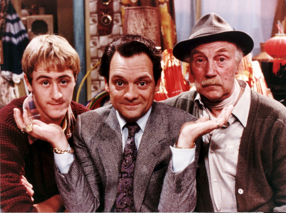 Only Fools And Horses will return for a one-off sketch in March (Picture: BBC)