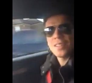 Wojciech Szczesny raps to Drake tune 'Furthest Thing' while driving along in his car – video