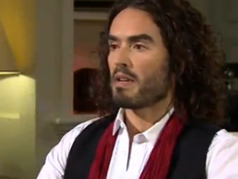 Russell Brand tells Jeremy Paxman to keep growing 'gorgeous' beard as Newsnight host questions him on his revolution