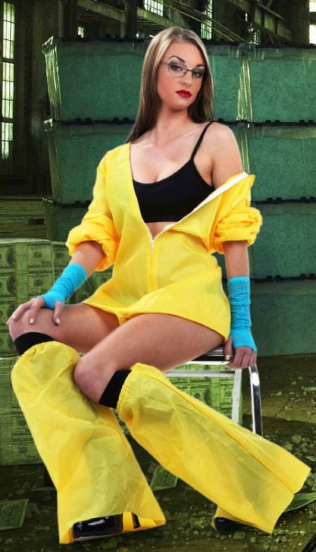 I am the one who knocks: Sexy Walter White is ideal for trick or treating (Picture: Halloweencostumes.com)
