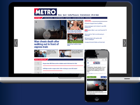 Why swipe has been removed from Metro.co.uk and what the future holds