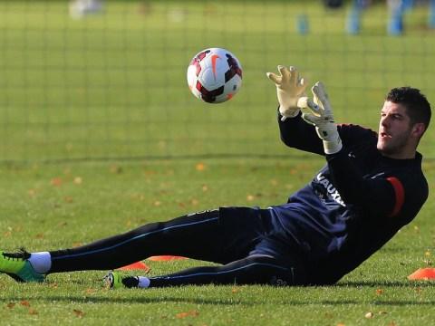 Fraser Forster given England no.1 boost by Chile rival Alexis Sanchez