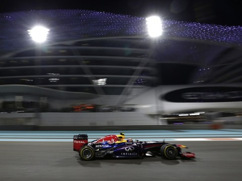 Mark Webber beats Sebastian Vettel to pole at Abu Dhabi Grand Prix