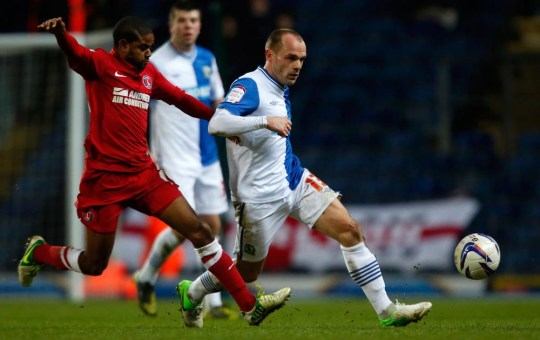 BLACKBURN, ENGLAND - JANUARY 19: Danny Murphy Paul Thomas/Getty Images