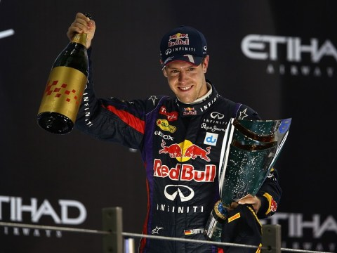Sebastian Vettel continues to dominate the field despite wrapping up world title