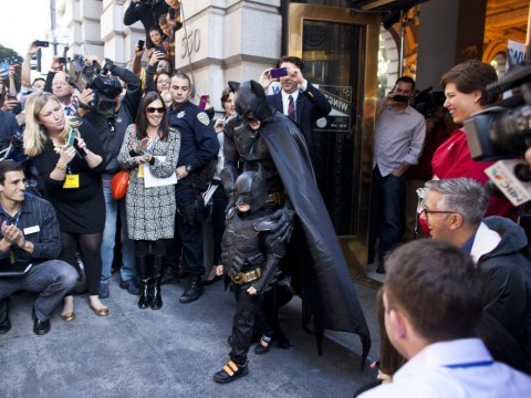 San Francisco transforms into Gotham City for 5-year-old 'Batkid' with cancer