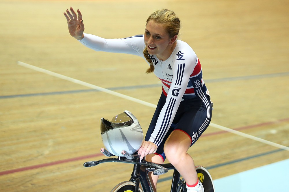Laura Trott wins omnium gold at Track World Cup in Manchester as Great Britain finish second in medal table