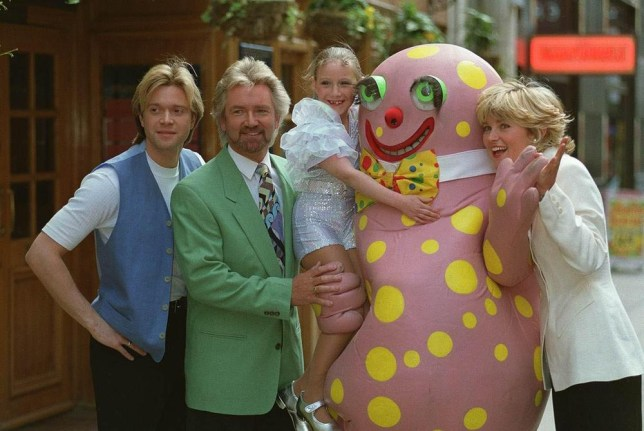 Worst Christmas songs: Mr Blobby in his heyday (Picture: Photoshot)