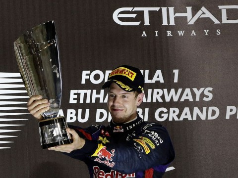 Sebastian Vettel wins Abu Dhabi Grand Prix for his seventh successive race victory of the season as world champion Red Bull driver continues to dominate